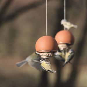 Fågelmatare Birdball Belle Terrakotta