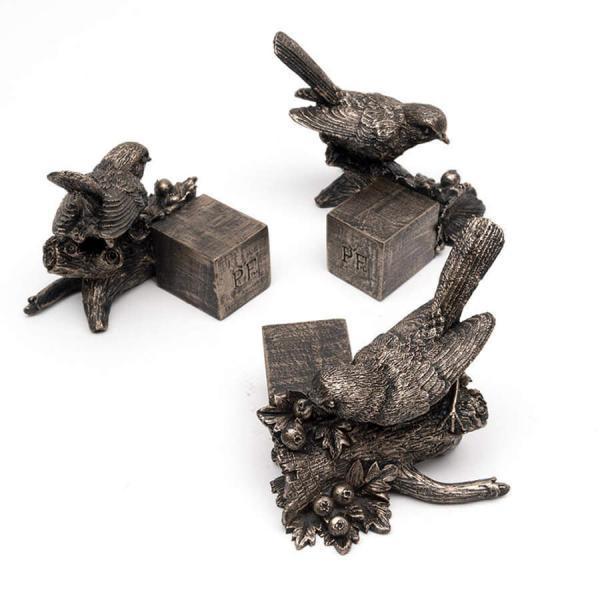 Krukfötter Fågel brons