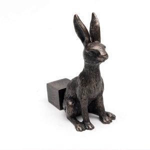 Krukfötter Hare brons