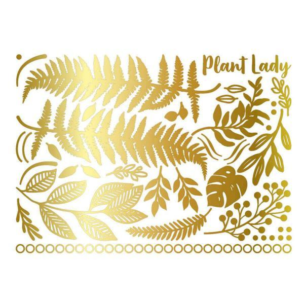 Golden Body Art Plant Lady-13