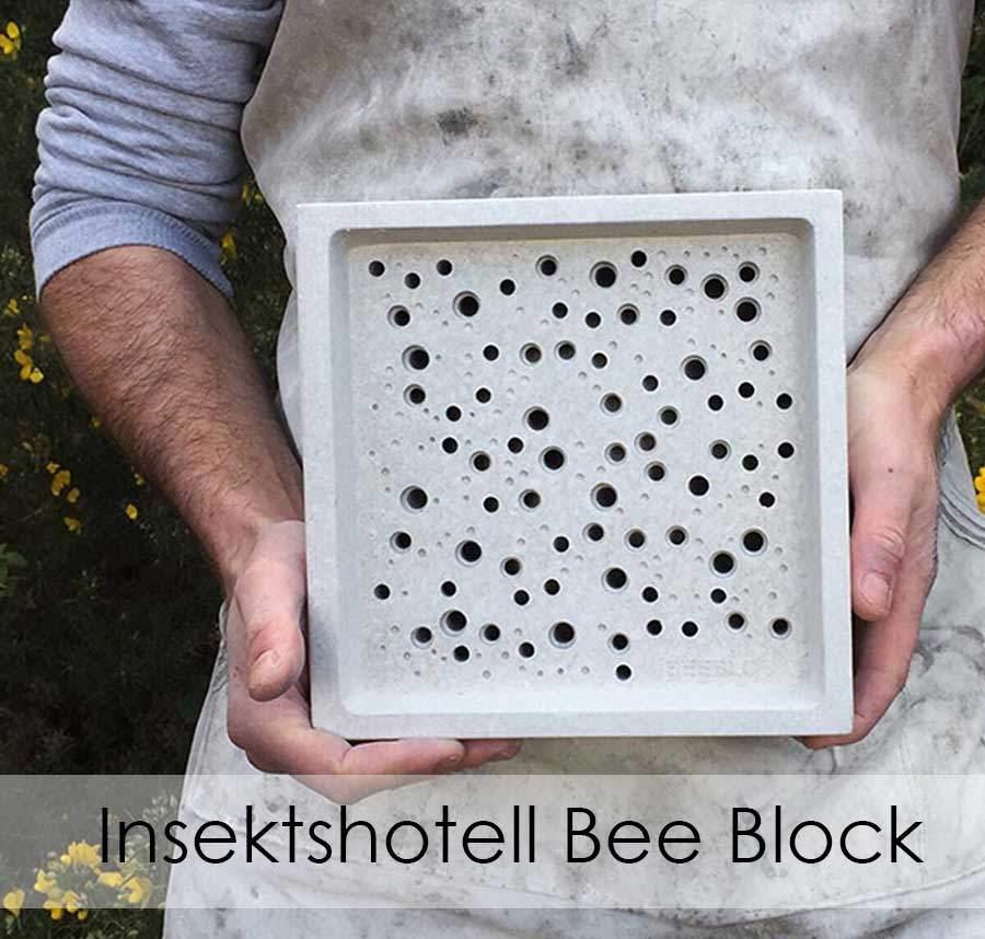 Insektshotell - Bihotell - Insektsholk Bee Block
