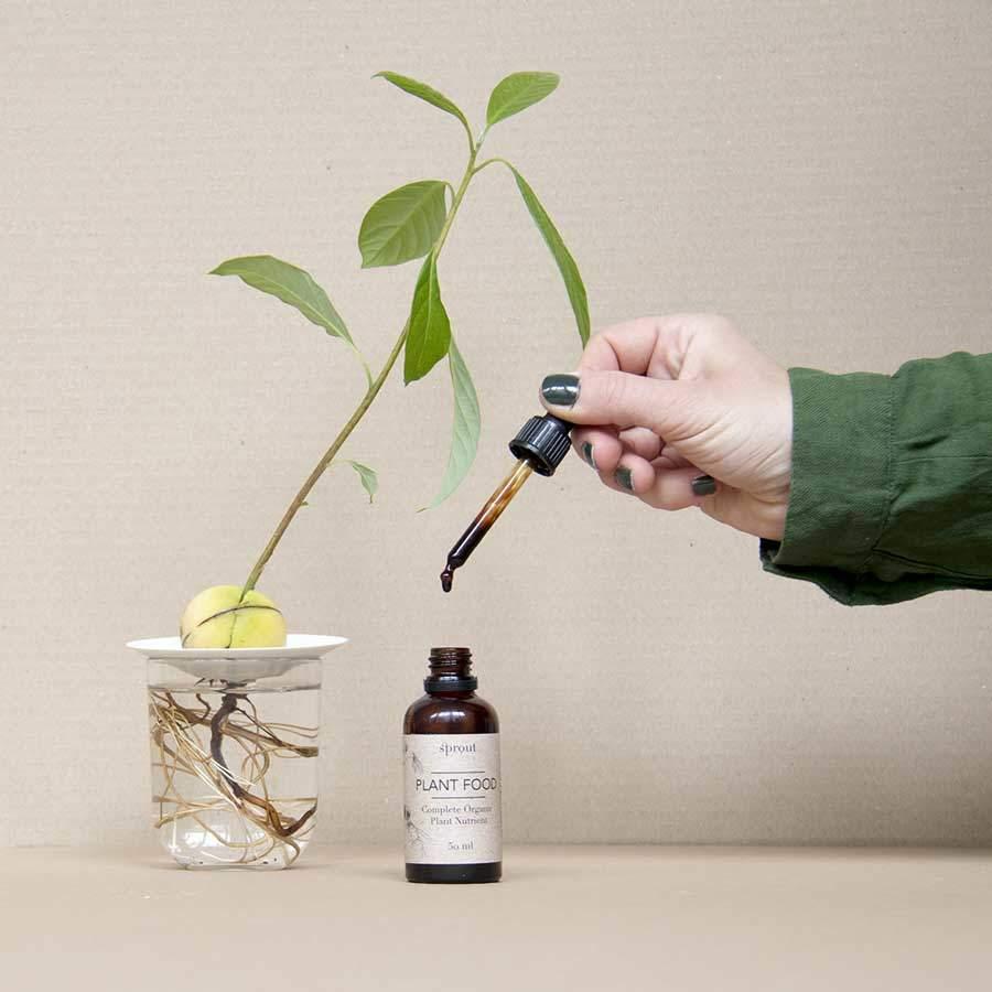 Komplett organisk växtnäring för sticklingar och vattenkultur