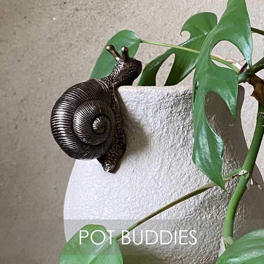 Pot Buddies - fina dekorationer för din trädgård