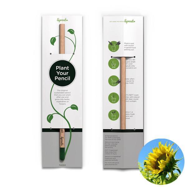 Planterbar penna - Plant your pencil - Solros
